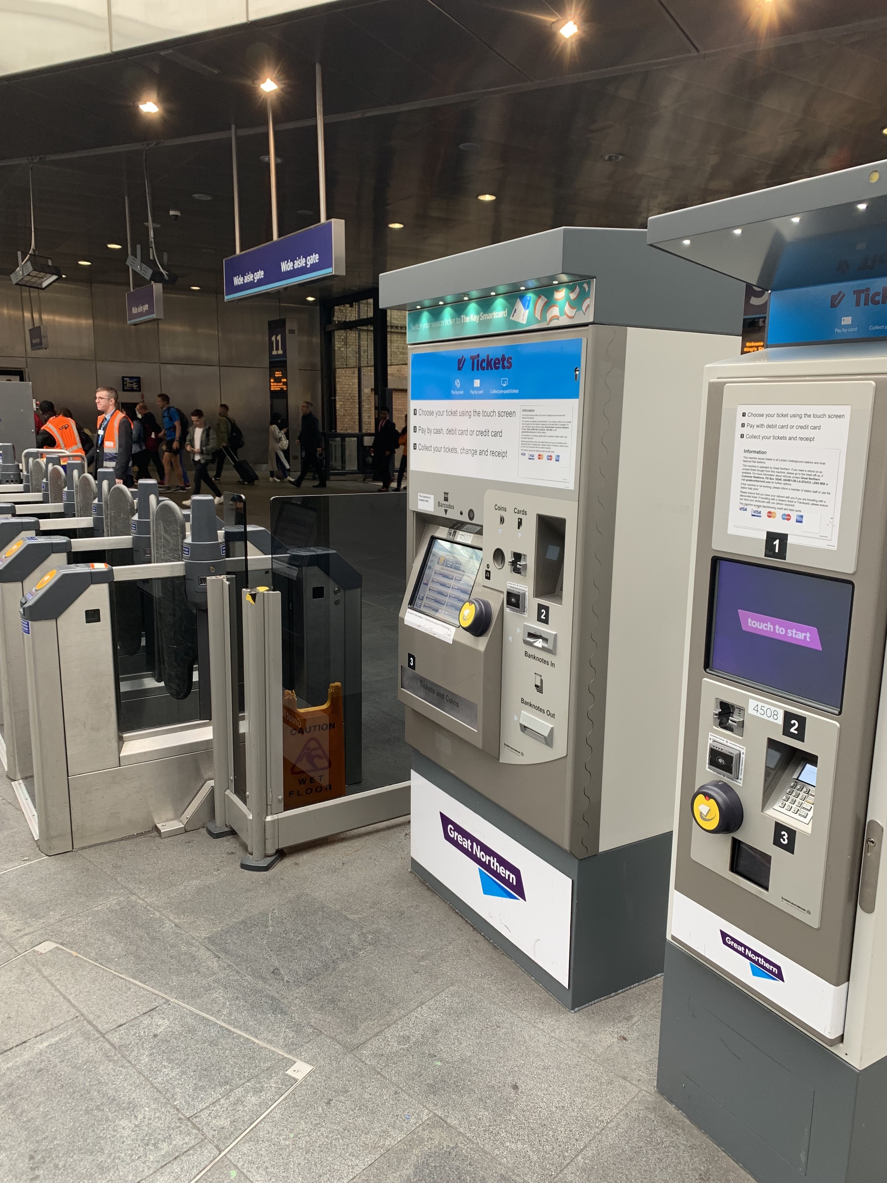 TVM installation on London and Southern region Rail routes.